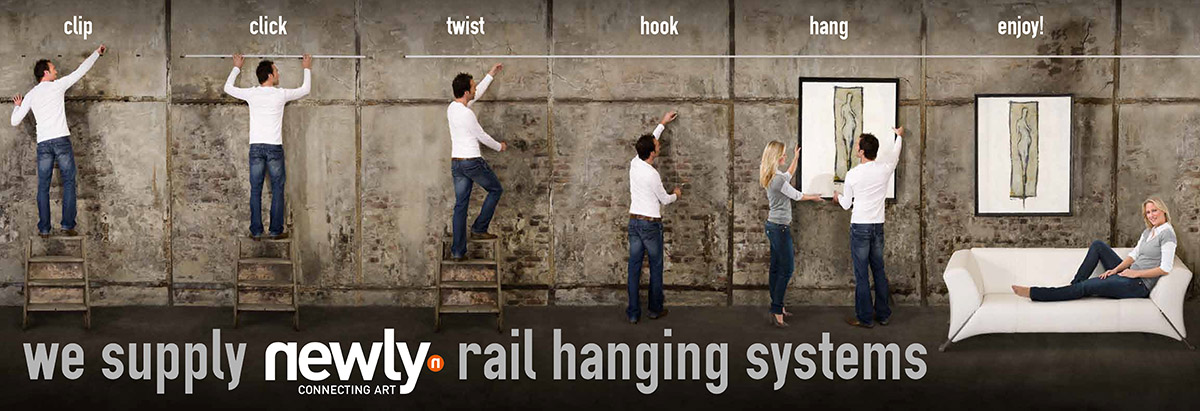 Newly Display Rail Hanging System
